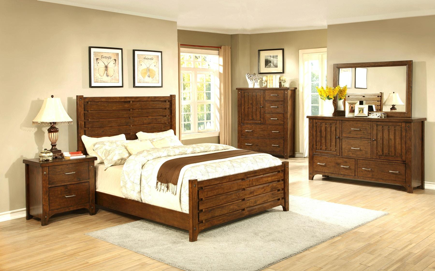 Holland House Mustang Bedroom Group   Queen 670614