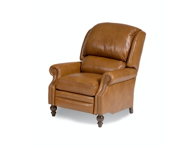 Pressback Leather Reclining Chair 053379