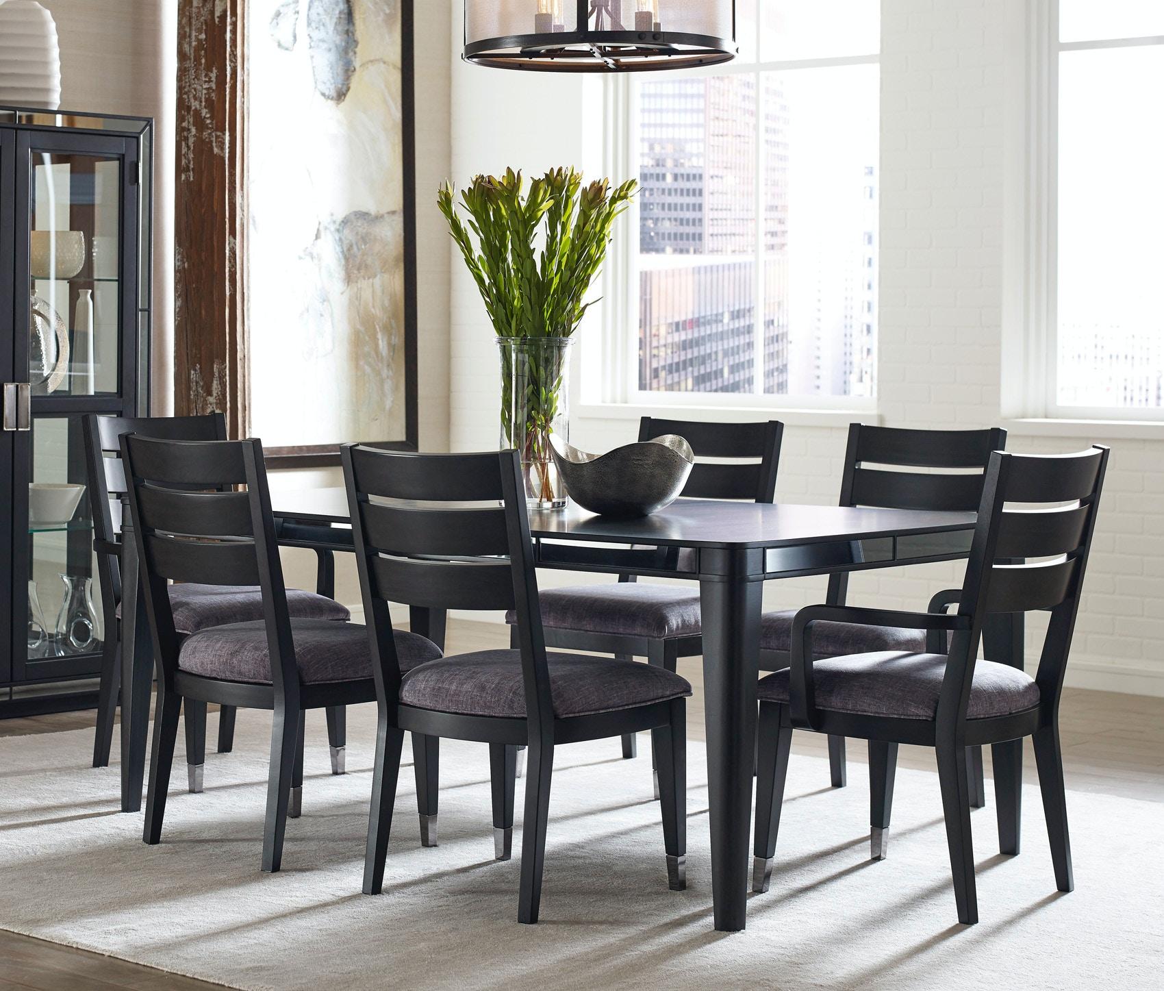 pulaski furniture dining room silverton sound dining set 718585