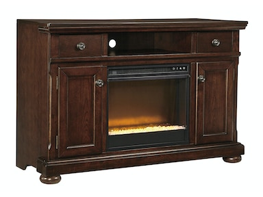 Porter TV Stand with Fireplace - Large 743765