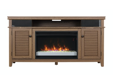 Simmons Bay Media Console with Fireplace 749335