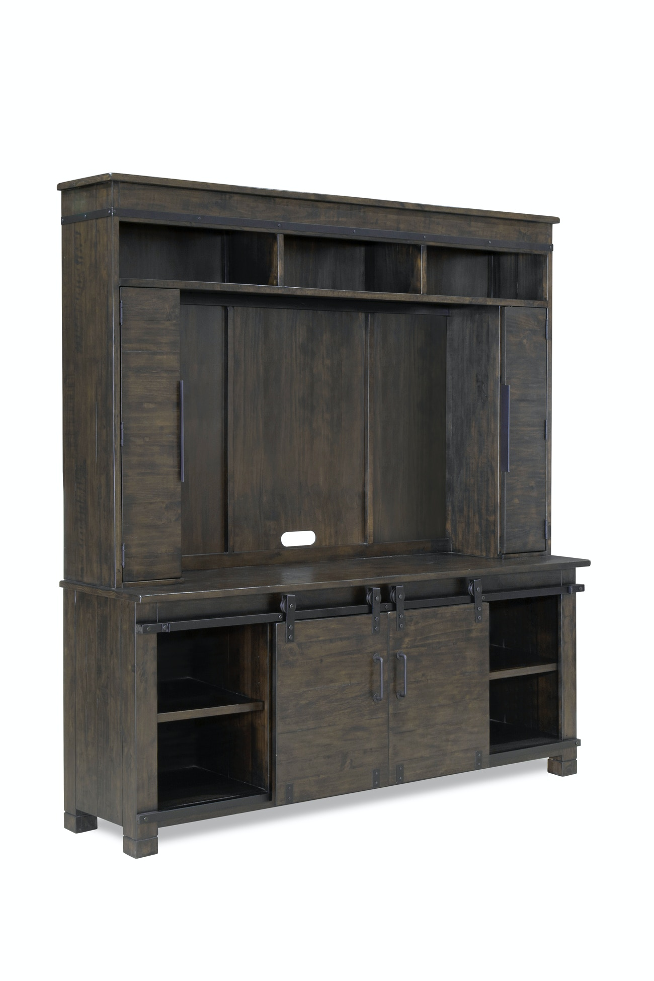 Magnussen Home Living Room Abington Console With Hutch 769428   Furniture  Fair   Cincinnati U0026 Dayton OH And Northern KY