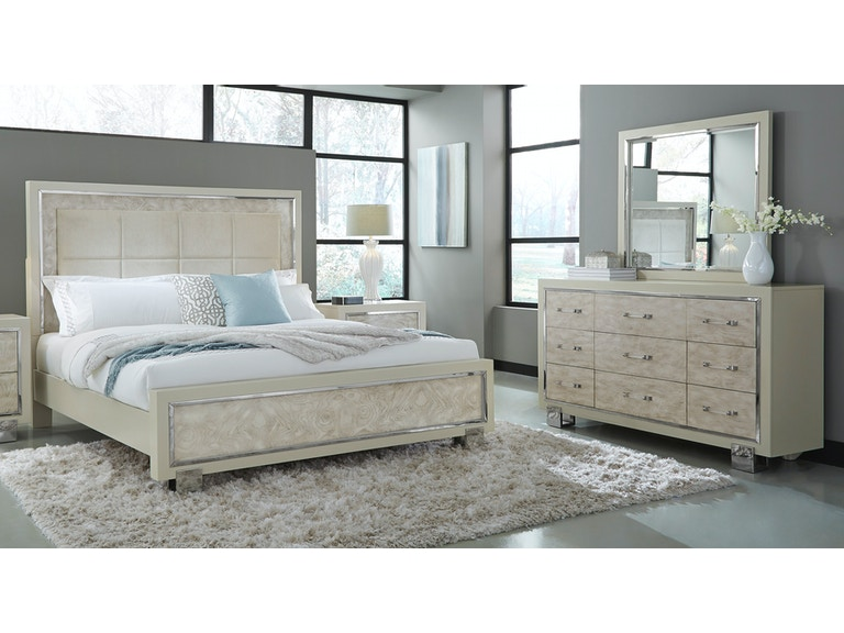 Pulaski Furniture Cydney Bedroom Group King Furniture - Furniture fair bedroom sets