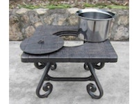 Sonoma Outdoor Table with Ice Bucket 816206