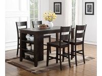 Belmont Kitchen Island with Stools 834074