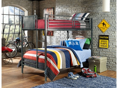 Urban Quarters Bunkbed - Twin over Twin 837912