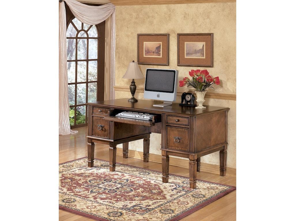 Signature Design By Ashley Home Office Hamlyn Storage Desk 840055 Furniture Fair Cincinnati