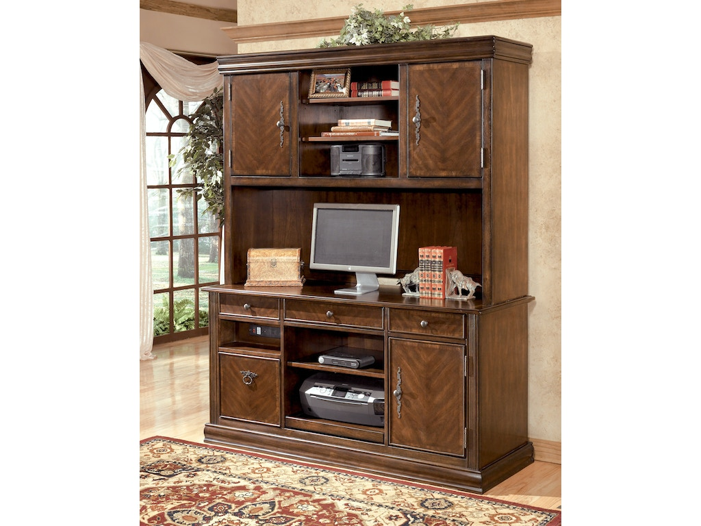 Signature Design By Ashley Home Office Hamlyn Credenza And