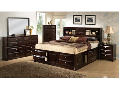 Lifestyle Bedroom Davida Storage Bed Queen 846168