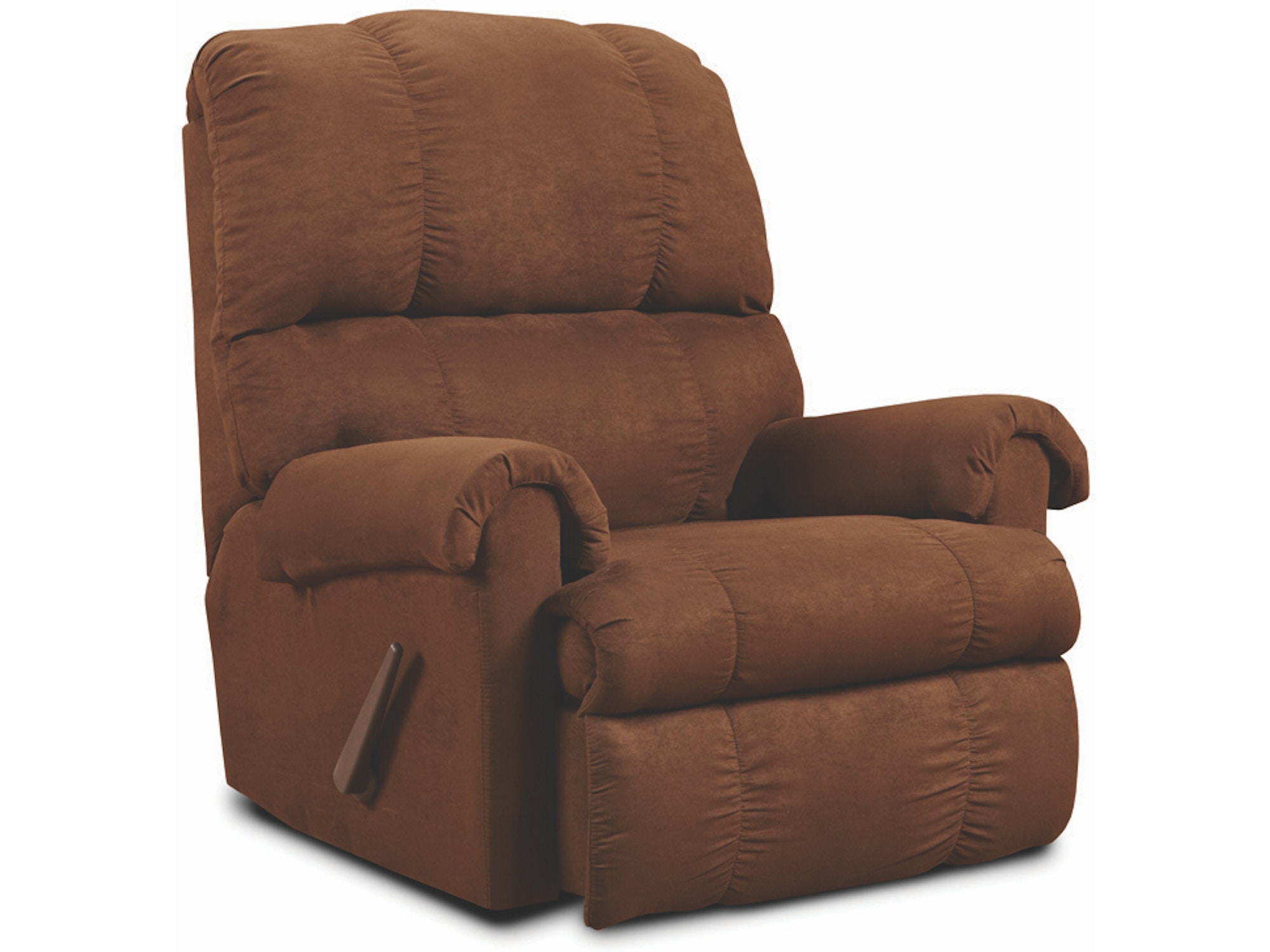 Chocolate Rocker Recliner 033218