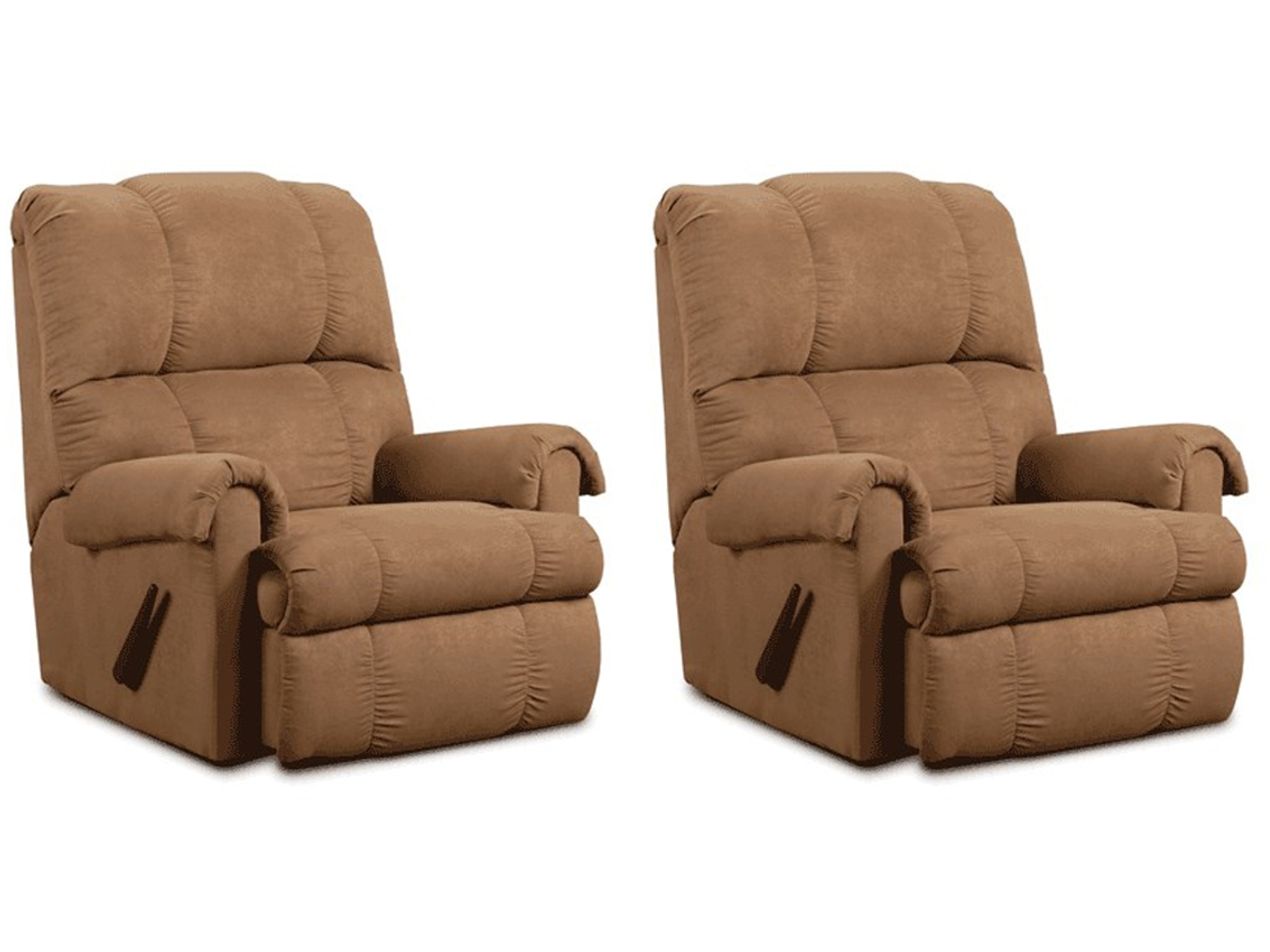 Taupe Rocker Recliner Pair 438364