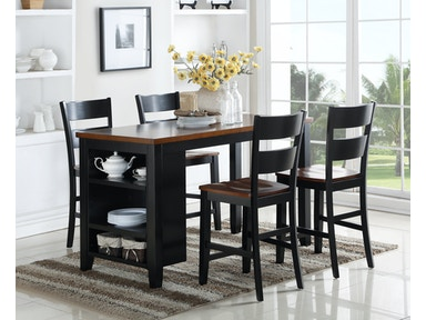 Findlay Kitchen Island with Stools 923828