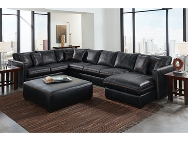 Tucker Left Chaise Sectional with Ottoman 925226