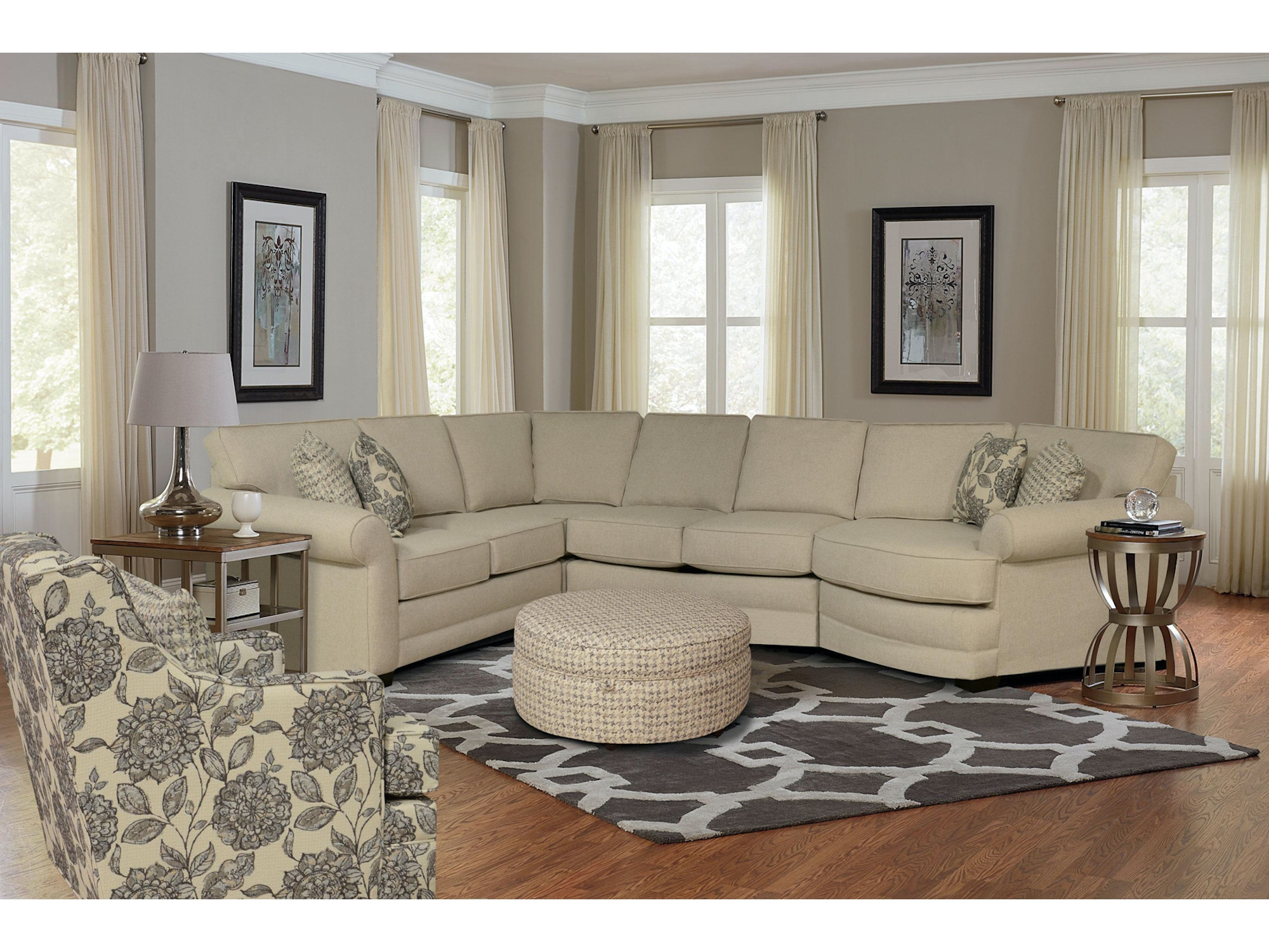 939488 Brantley Right Cuddler Sectional