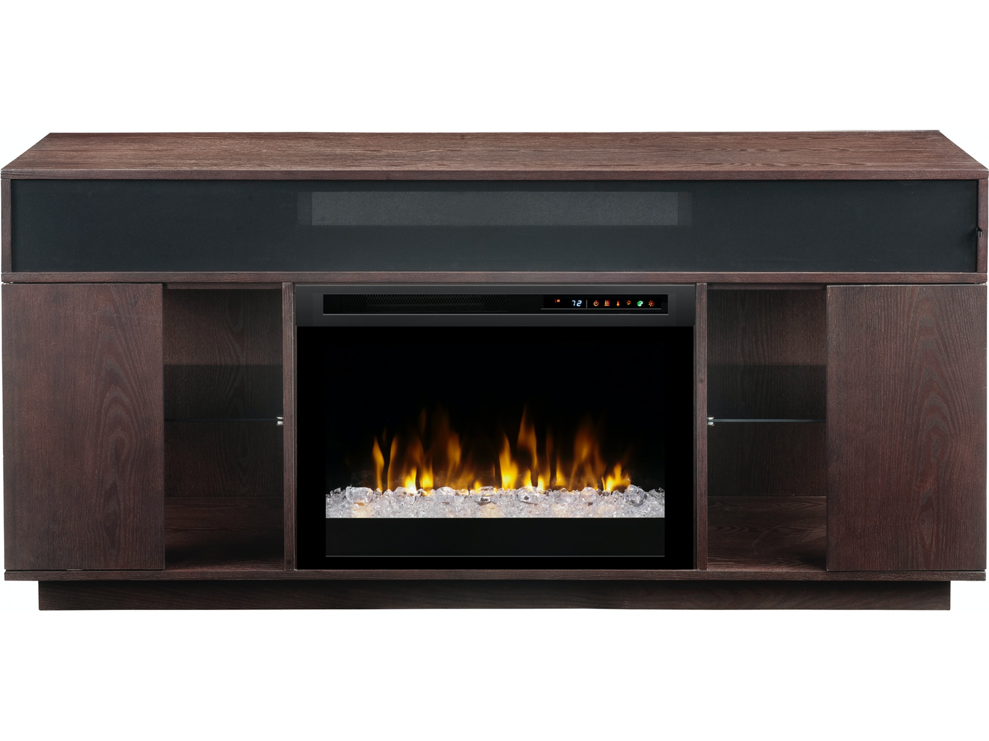 ashley by products number stand trendz gordon large insert rustic design item tv with trevor fireplace console ruby