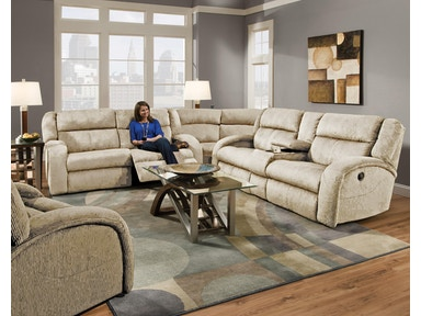 Maverick Reclining Sectional 966879