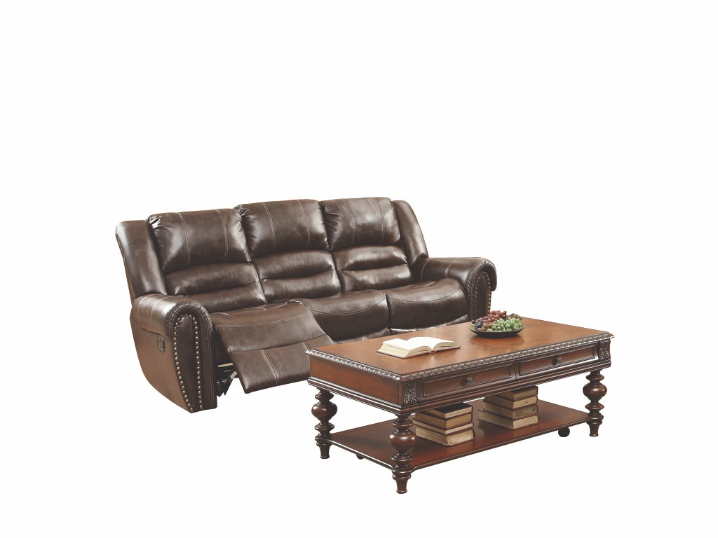 Homelegance Dallas Double Reclining Sofa 041402