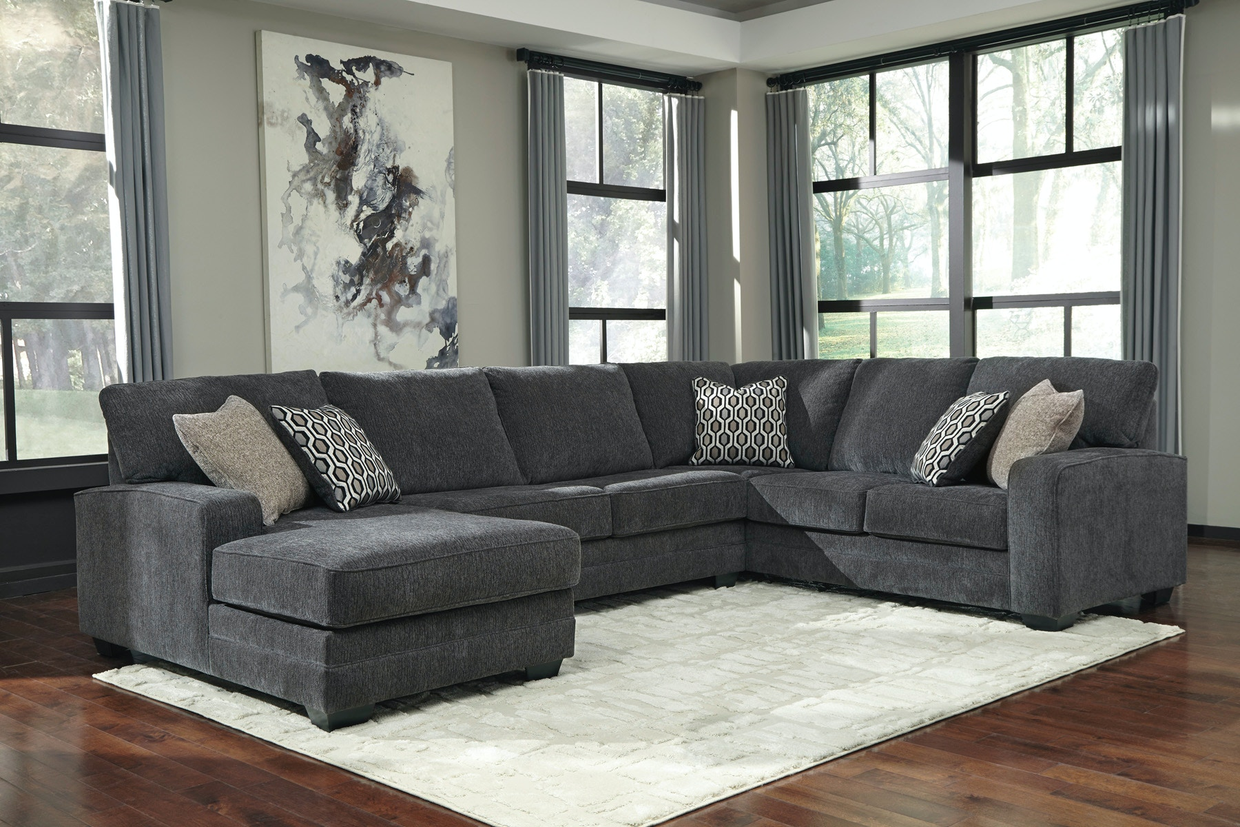 Signature Design By Ashley Tracling Left Chaise Sectional 973566