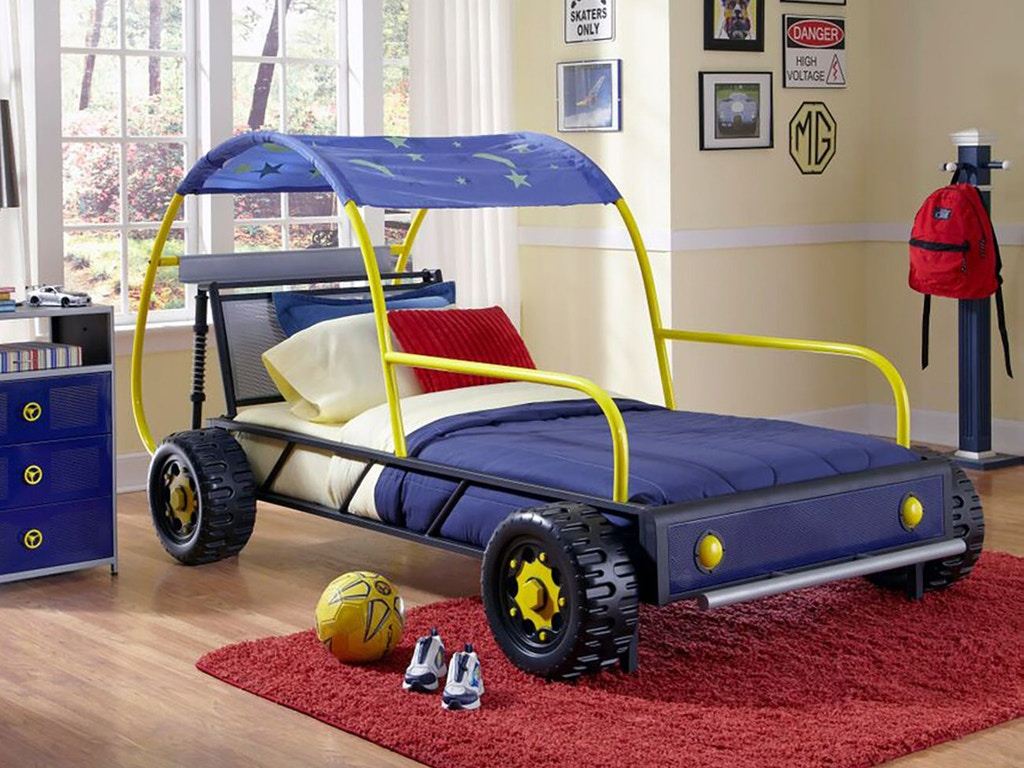 powell furniture dune buggy car bed twin bb0110