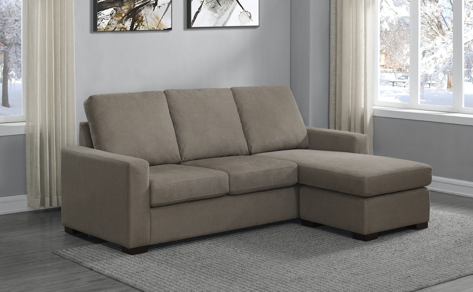 Prime Resources International Living Room Newton Sofa Chaise