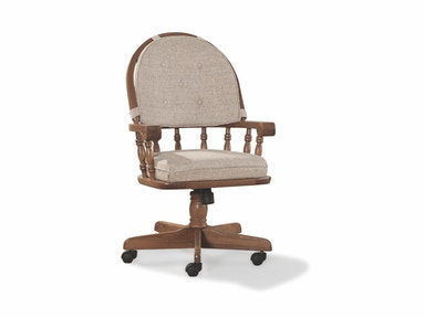 Classic Oak Tilt Swivel Chair 036253