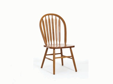 Classic Oak Arrow Back Side Chair 029442