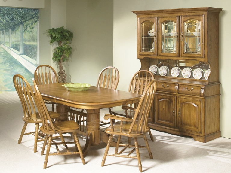 Classic Oak Dining Set