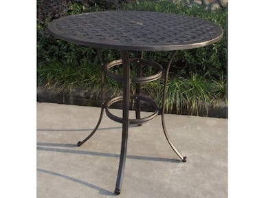 Castlerock Outdoor Bar Height Table 036279