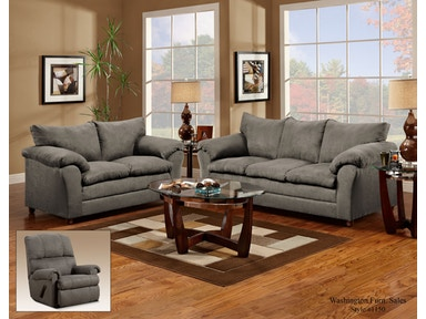 Graphite Sofa and Recliner Set 033113