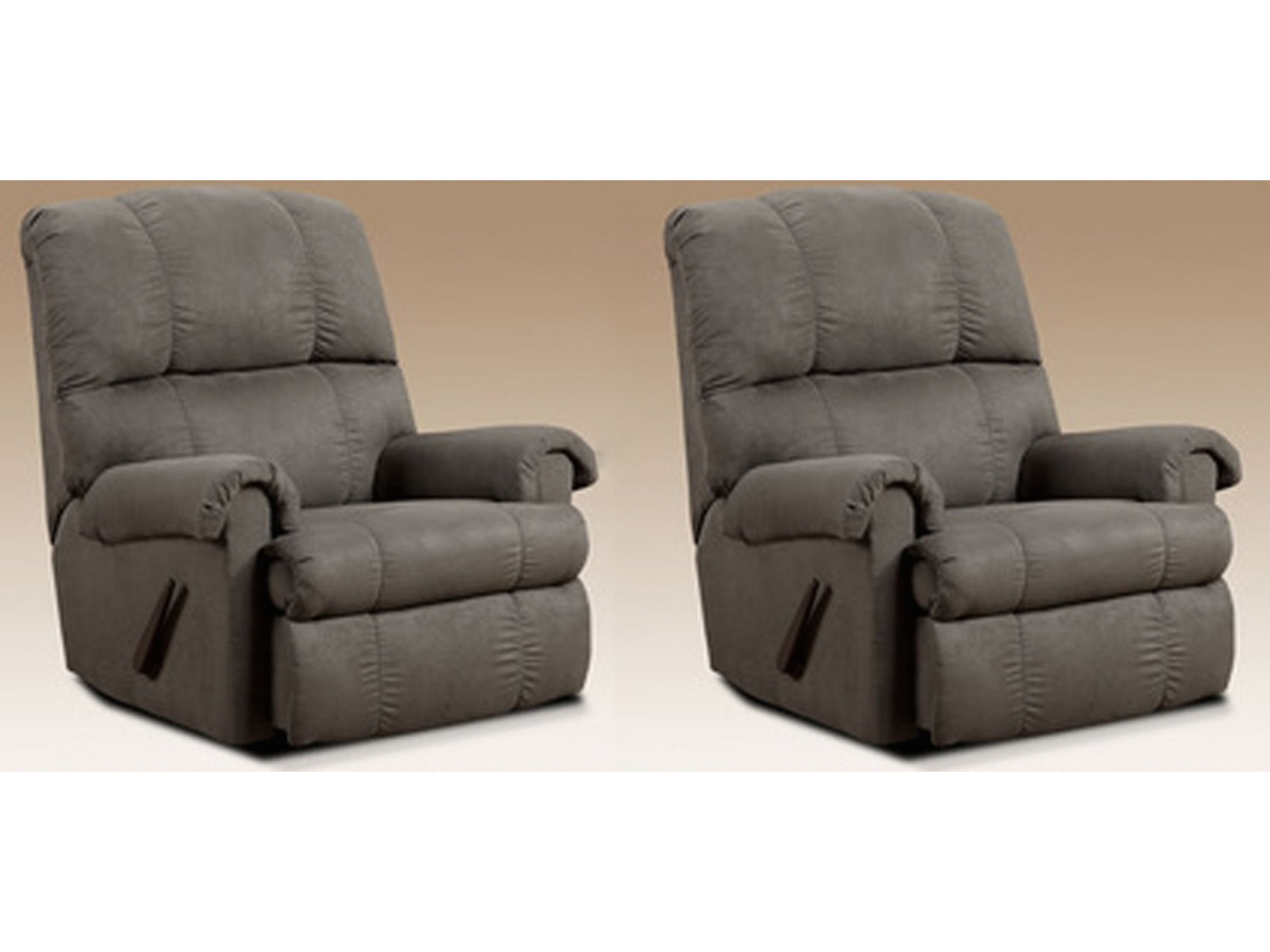 Graphite Rocker Recliner Pair 309196