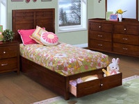 Kensington Panel Storage Bed - Twin 620253