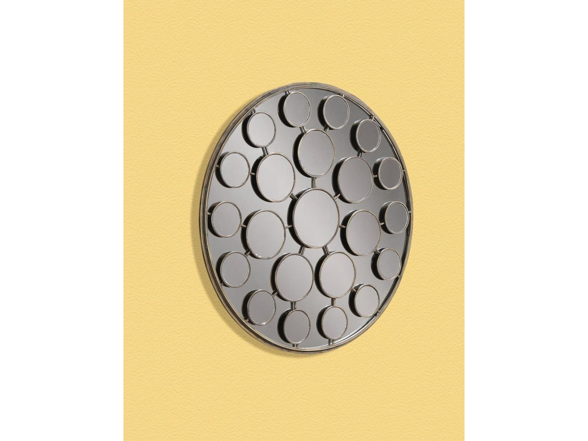 Contemporary Round Wall Mirror 015973