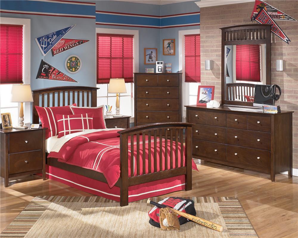 Lifestyle Bedroom Metro Espresso Bed Twin Tnt950 Furniture Fair Cincinnati Dayton Oh And