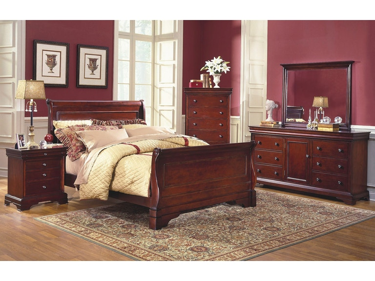 New Classic Home Furnishings Inc. Versailles Bedroom Group - King ...