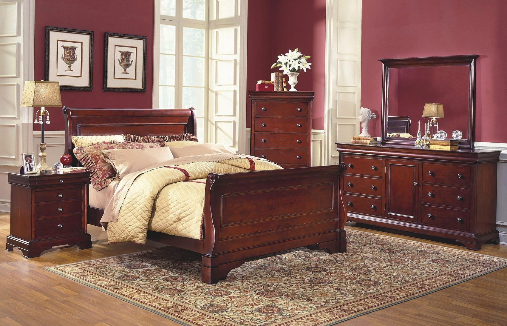 New Classic Home Furnishings Inc Versailles Bedroom Group