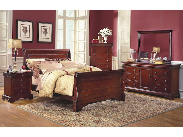 new classic home furnishings inc. bedroom versailles landscape