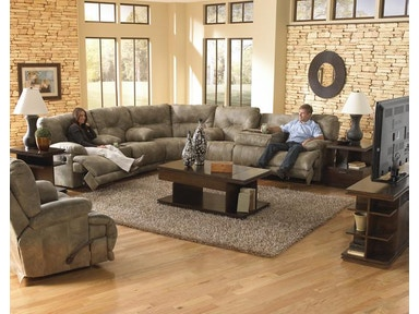 Voyager Power Sofa Reclining Sectional 037565