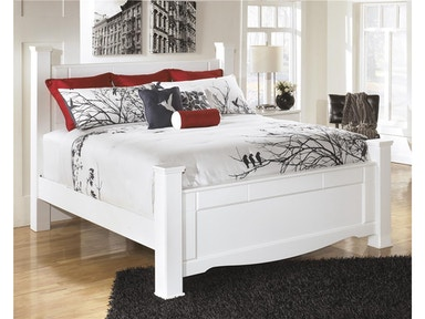 Weeki Poster Bed - King 418910