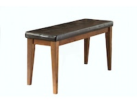 Kona Backless Bench with Cushion - Raisin 054001