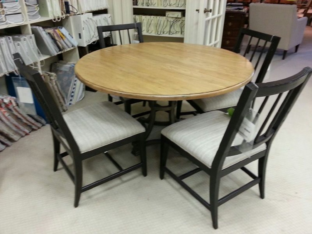 Drexel Heritage 54 In Almeda Pedestal Dining Chair Four Piquant Side Chair 510 690b 621t