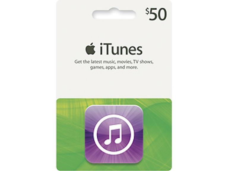 50$ itunes card