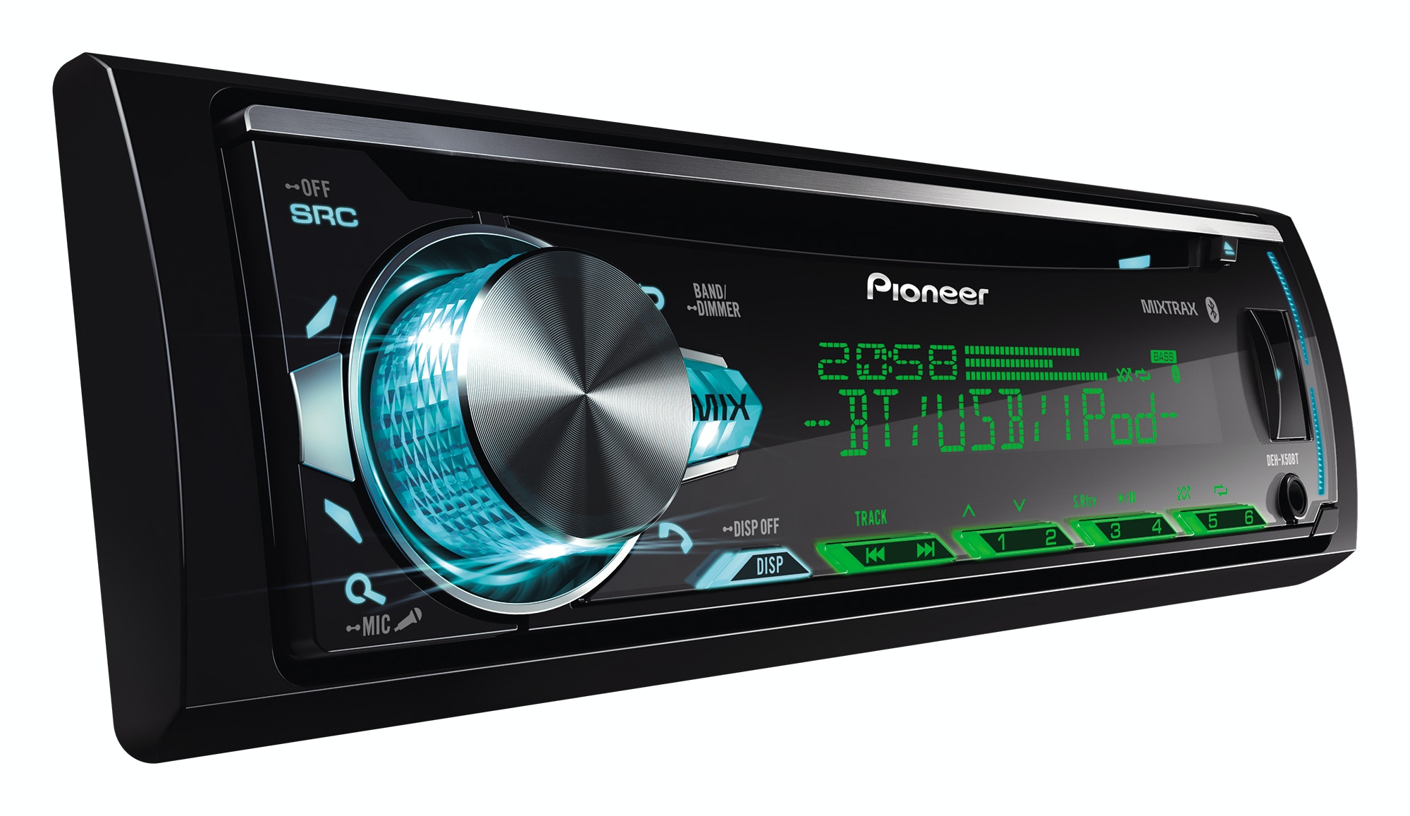 Pioneer Car Stereo  Bluetooth  Usb Deh-x50bt - Crown Furniture  U0026 Electronics