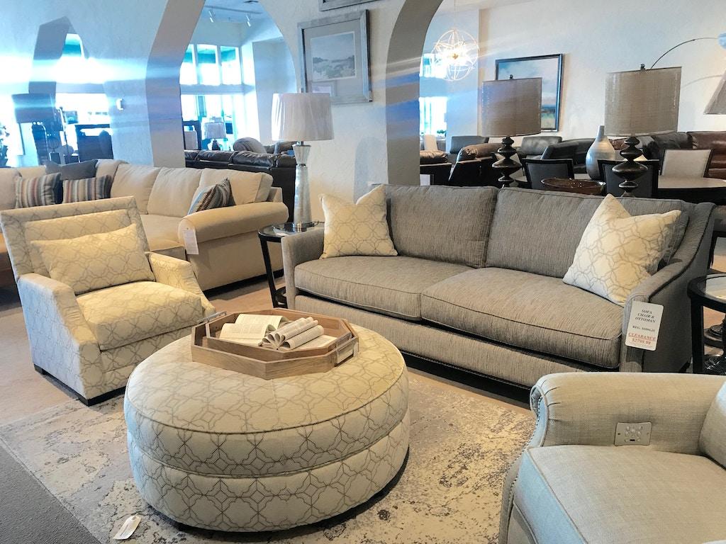 Norwood Furniture Living Room Sofa Chair Ottoman 119263