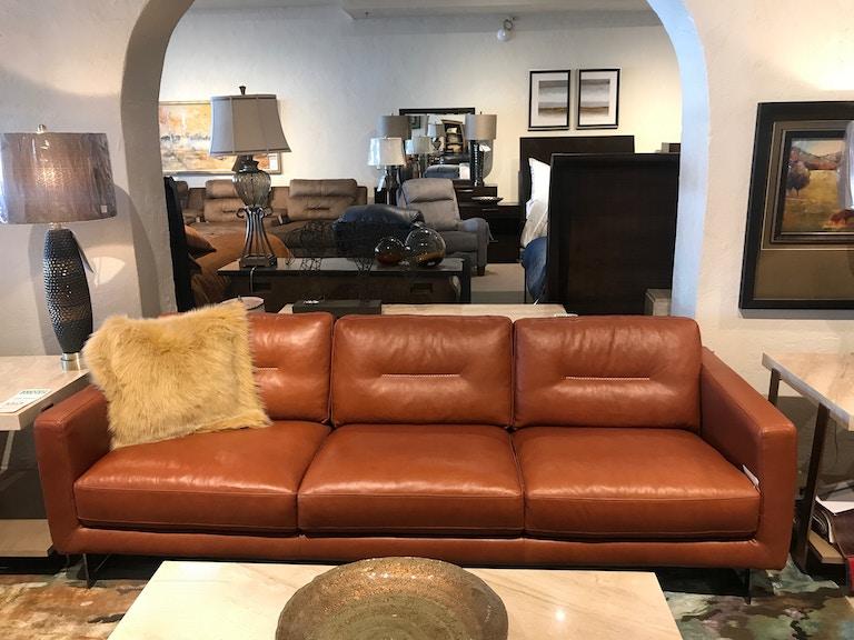 Craftsman Leather Living Room Sofa 134834 Norwood Furniture