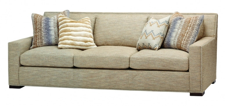 Charleston House Living Room 3 Cushion Sofa 2301MASS At Norwood Furniture