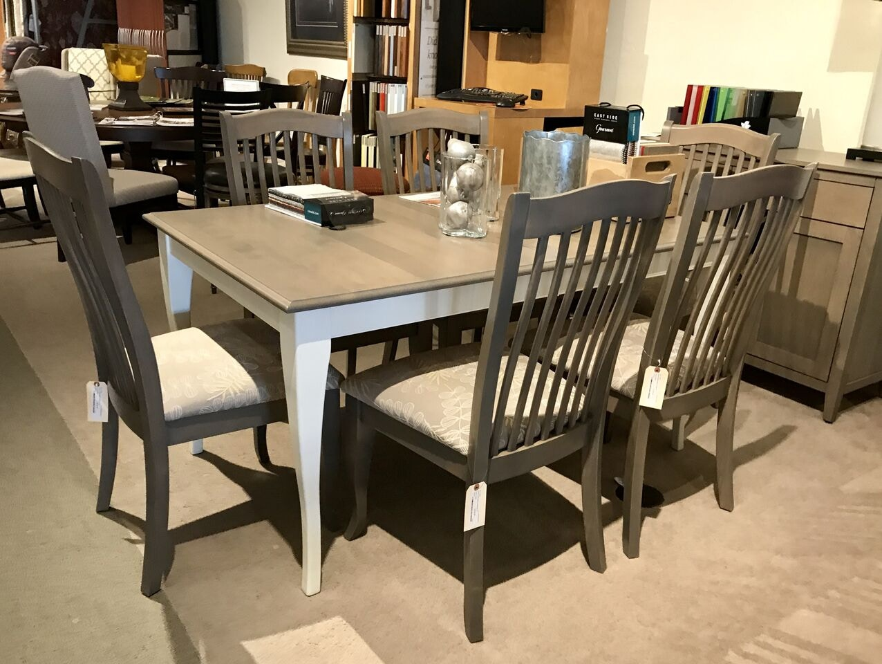 Canadel 7 Piece Dining 2TNE TBLE