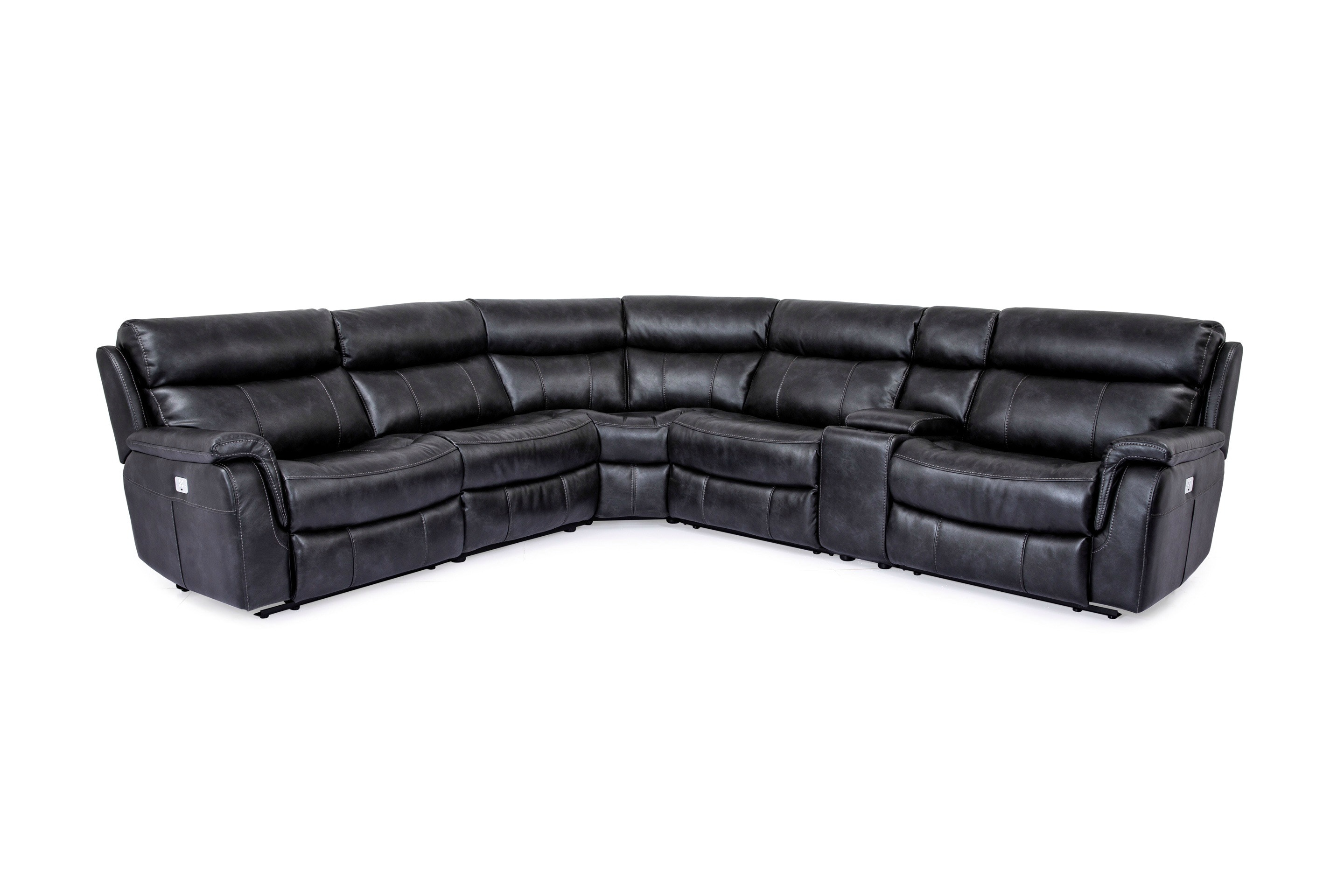 9020. Reclining Leather Sectional · 9020 · Norwood Furniture