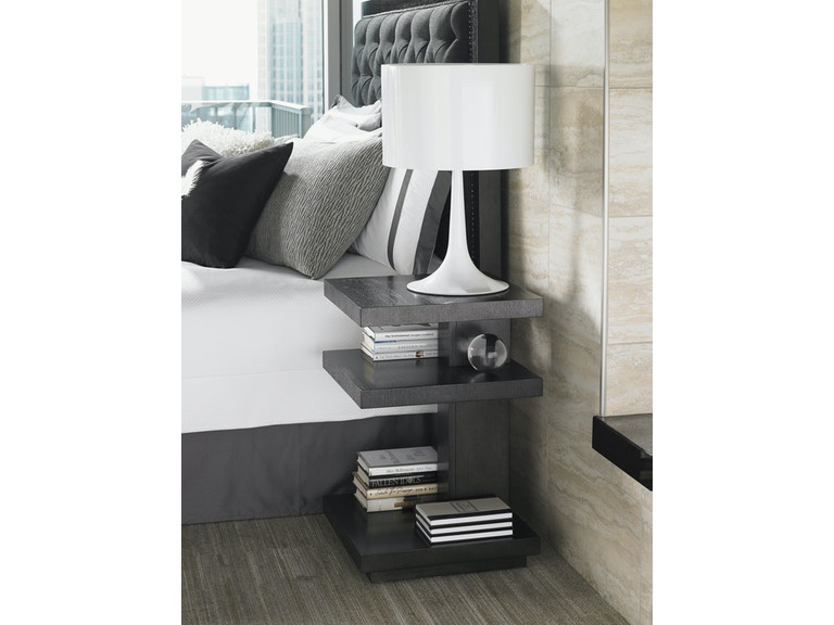 Lexington Home Brands Bedroom Carrera Ascari Night Table 911 623 Norwood Furniture