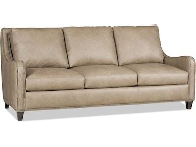 Bradington Young Living Room Madigan Stationary Sofa 8 Way Tie Bry
