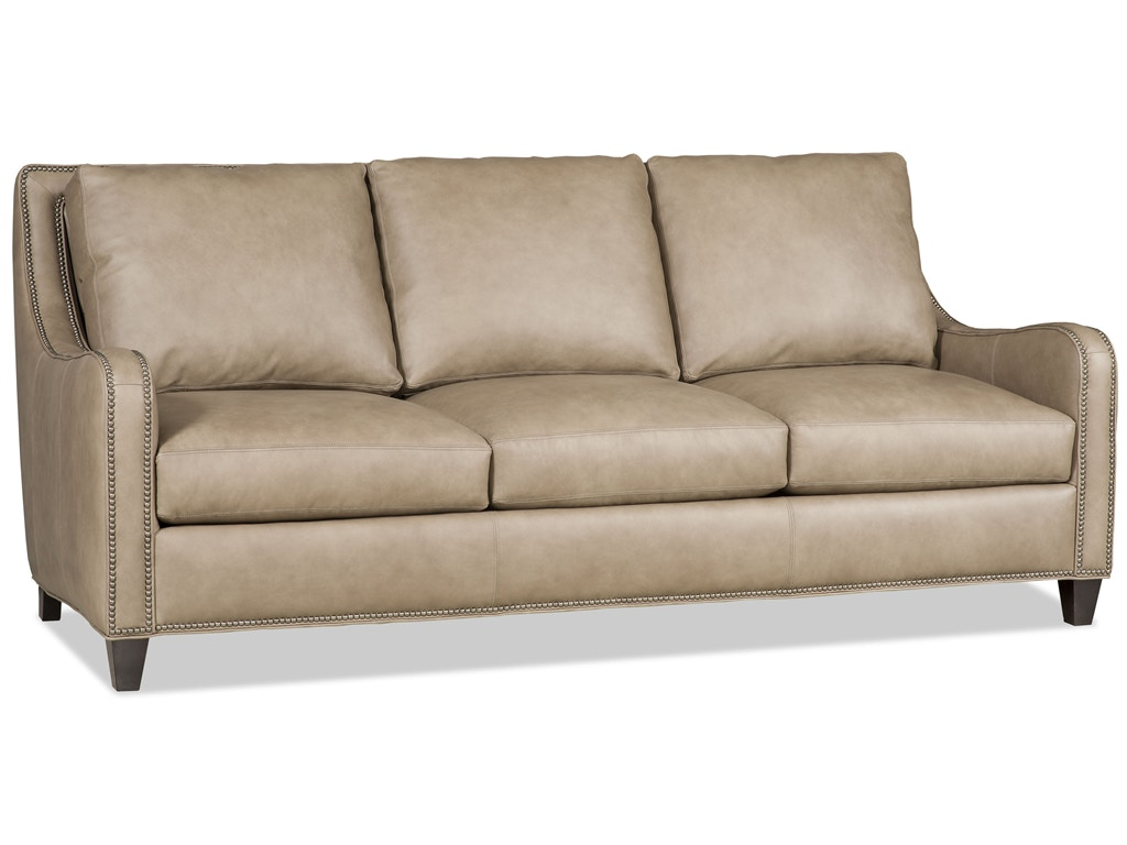 Bradington Young Living Room Madigan Stationary Sofa 8 Way Tie BrY 565 95